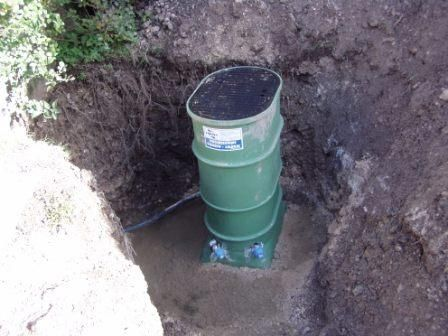 Connecting to the public water supply, water meter box and ...